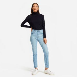 Everlane Cheeky Straight Jean 25 Ankle
